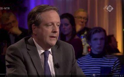 Pechtold tijdens uitzending Nieuwsuur. beeld Nieuwsuur