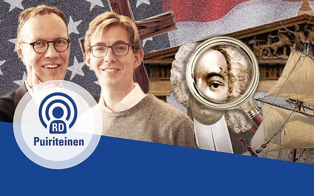 De hosts van de PuriteinenPodcast: Albert-Jan Regterschot en Steven Middelkoop. beeld RD
