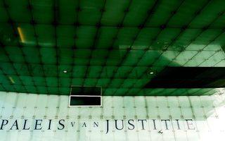 Het Amsterdams gerechtshof is gevestigd in het Paleis van justitie aan het IJdok. beeld ANP, Koen van Weel