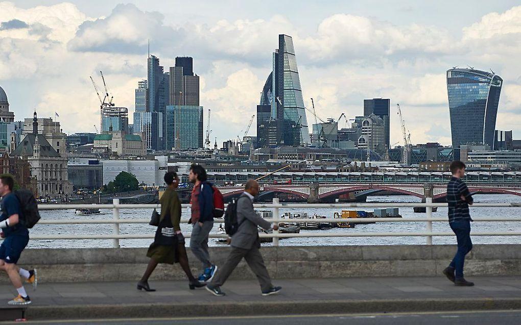 Gedeelte van de skyline van Londen. beeld AFP