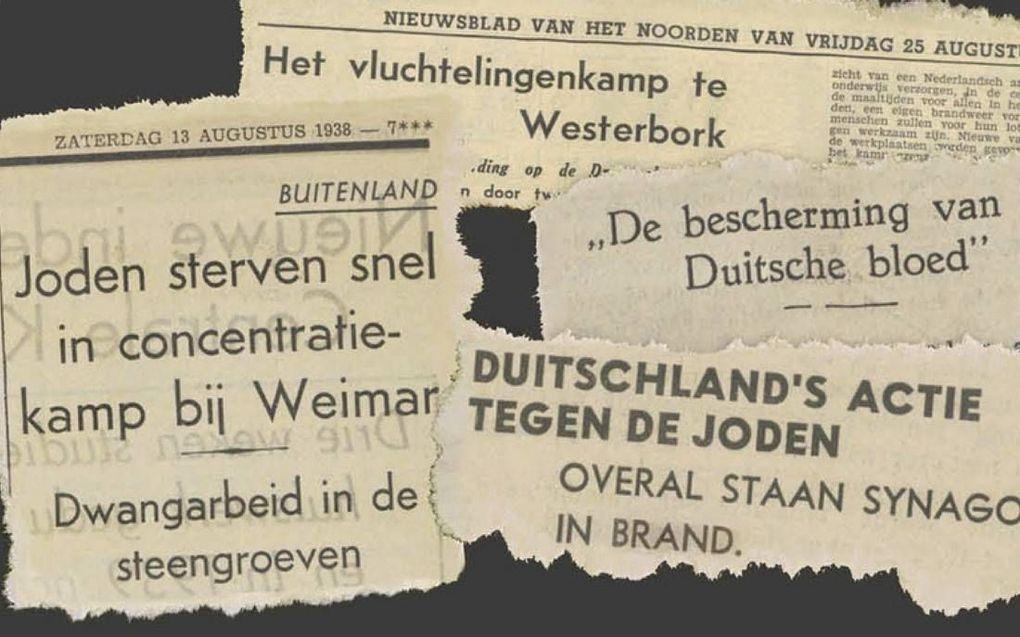 """""""De Nederlandse kerkleiders zwegen toen Joden het ene na het andere onrecht werd aangedaan."""" beeld Klaas de Jong"""