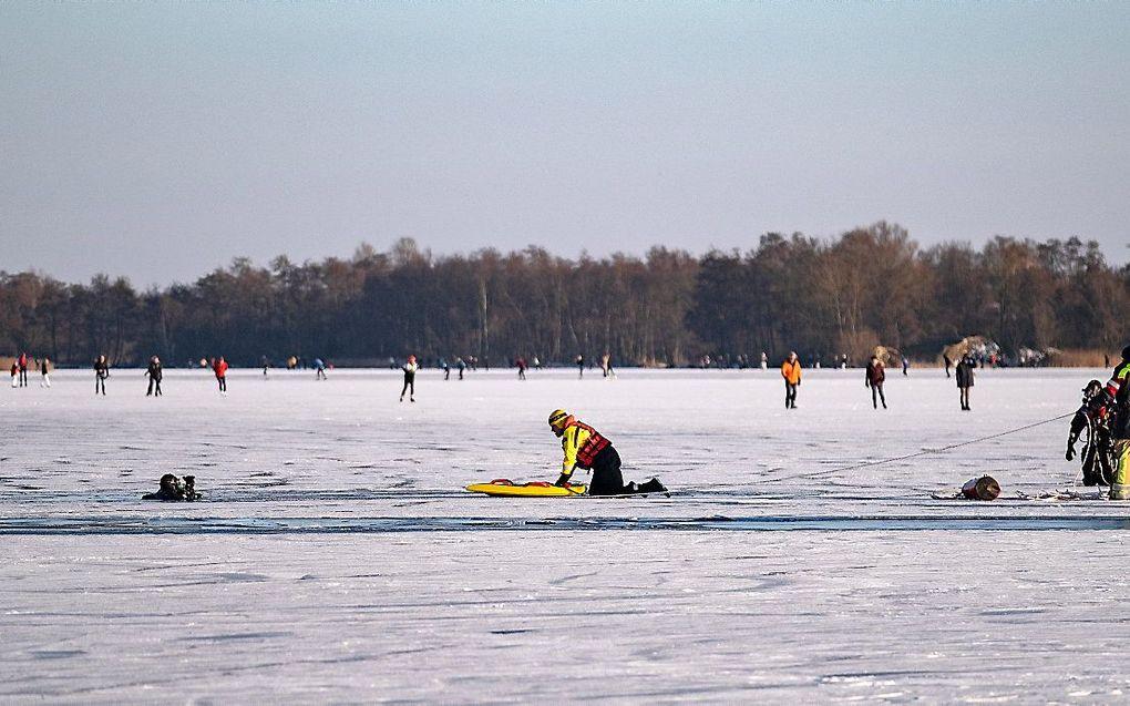 Op veel plaatsen mensen door het ijs gezakt - Reformatorisch Dagblad
