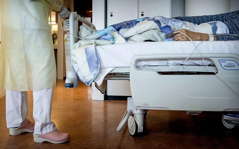 Jongere met genetische afwijking kan met ernstige covid-19 op de intensieve care terechtkomen. ANP, Koen van Weel