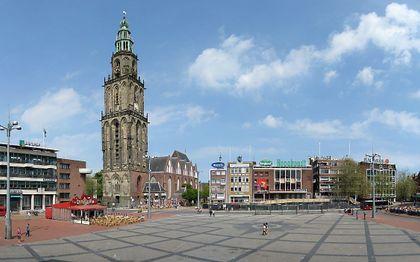 De Martinitoren in Groningen. beeld Wutsje