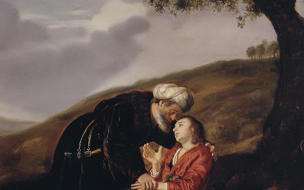 Abraham staat centraal tijdens een interreligieuze viering tussen christenen en moslims in Ede.            beeld RD