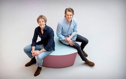 Lucas en Arthur Jussen. beeld ANP, KOEN VAN WEEL