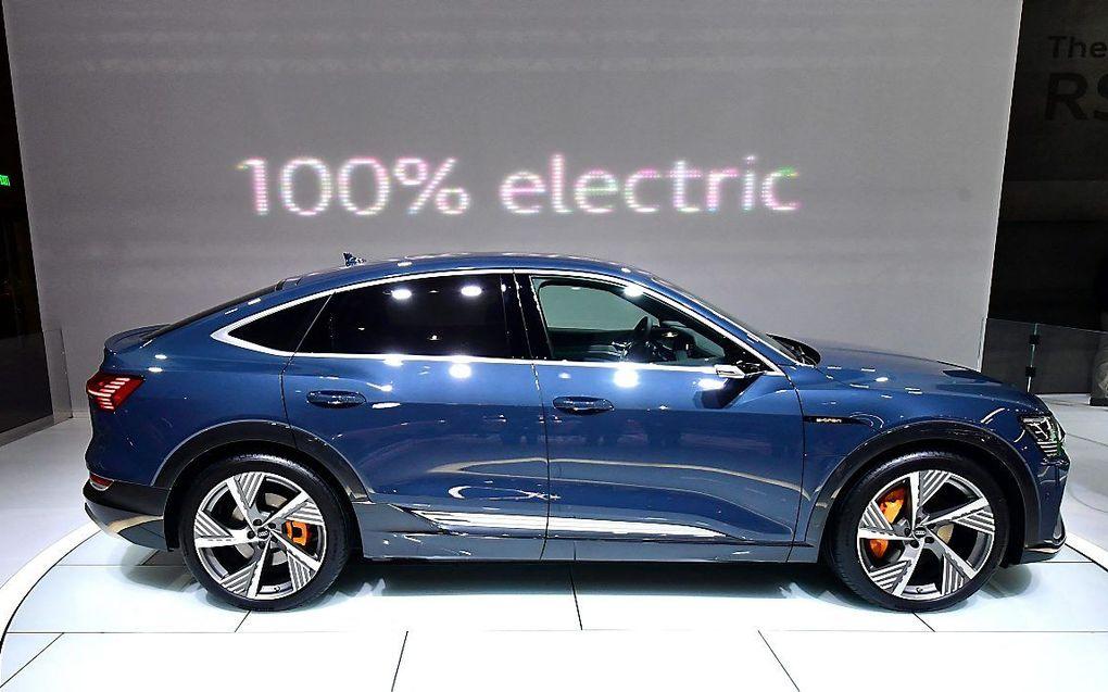Audi e-tron Sportback. beeld AFP, Frederic J. Brown