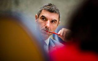 Staatssecretaris Paul Blokhuis van Volksgezondheid, Welzijn en Sport tijdens het debat. beeld ANP
