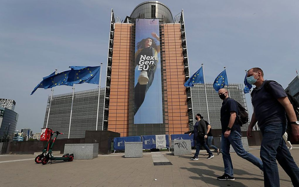Biden zal in Europa met open armen worden ontvangen. beeld EPA