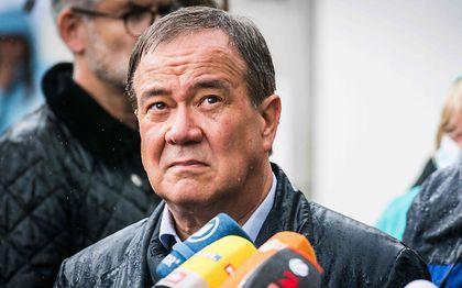 CDU-kanselierskandidaat Laschet. beeld AFP, Bernd Lauter
