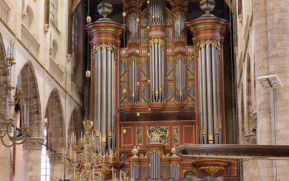 Het orgel van de Laurenskerk in Rotterdam. beeld Sjaak Verboom