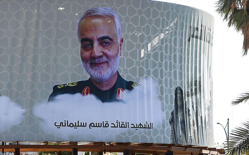 Qassem Soleimani. beeld AFP