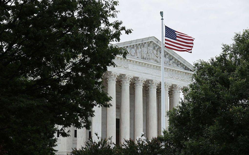 Het Amerikaanse Hooggerechtshof bepaalde maandag dat ontslag van lhbt'ers wegens hun geaardheid niet geoorloofd is. beeld AFP