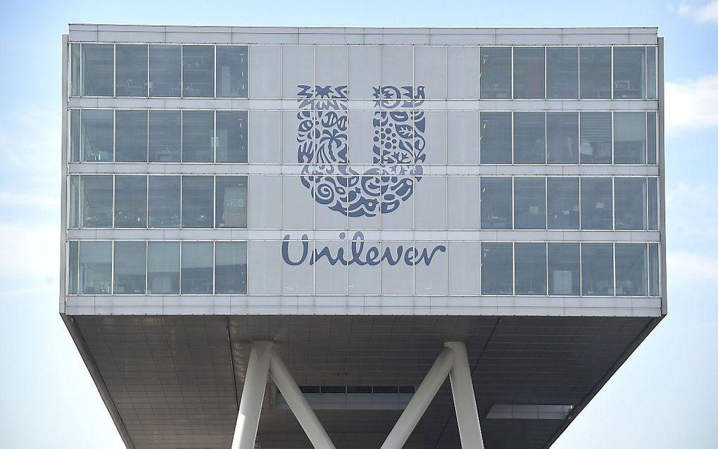 Het hoofdkantoor van Unilever in Rotterdam. beeld ANP, John Thys
