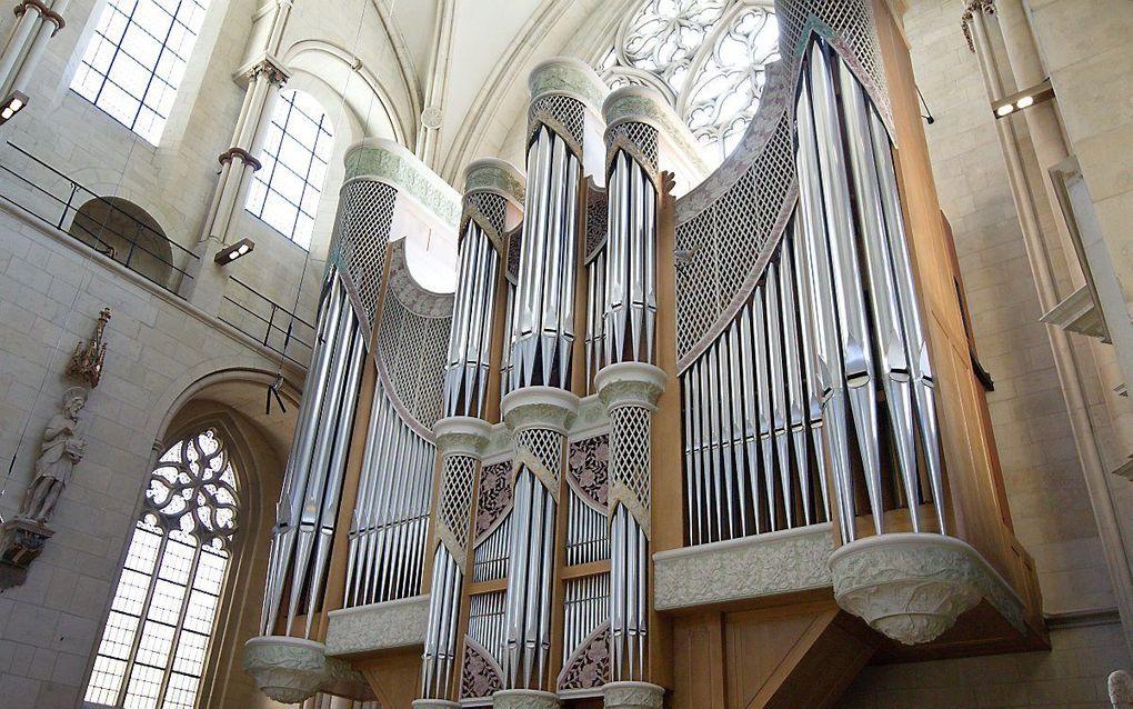 Het orgel van de Dom van Munster Duitsland. beeld RD, Anton Dommerholt