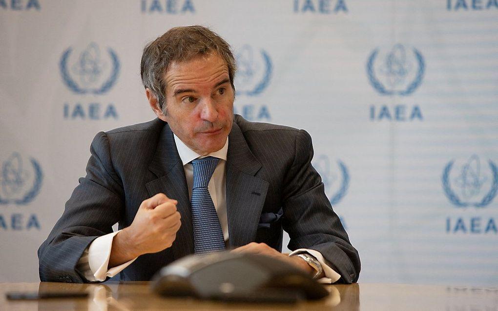 Rafael Grossi. beeld AFP, ALEX HALADA