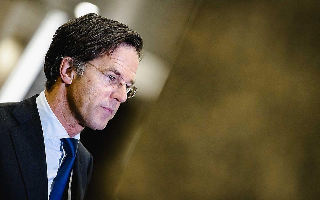 Premier Rutte. beeld ANP, Sem van der Wal