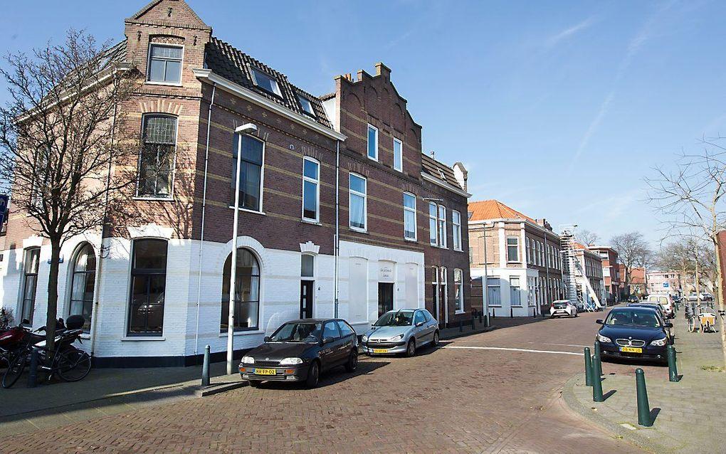 Eerwaarde heer E. van Baren ging tussen 2002 en 2017 vaak voor in de oud gerefor-meerde gemeente aan de Gaslaan in Den Haag. beeld RD, Anton Dommerholt