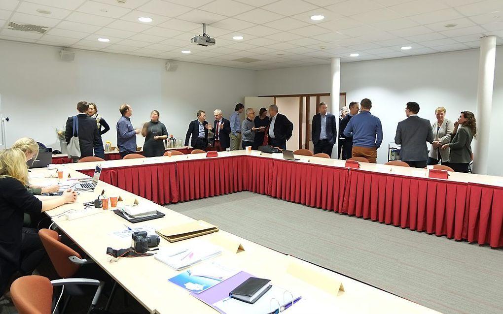 Een bijeenkomst van het Interkerkelijk Dovenpastoraat in 2018. beeld Gerrit van Dijk