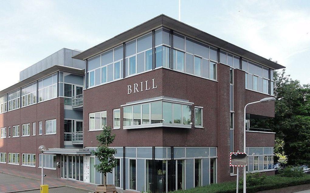 Het pand van uitgeverij Brill in Leiden. beeld Wikipedia, Bic