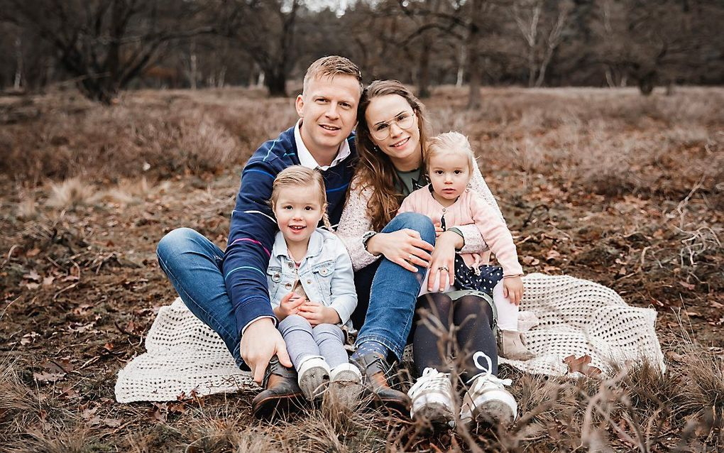 Bram en Janneke Nijveld en hun kinderen. beeld Fam. Nijveld