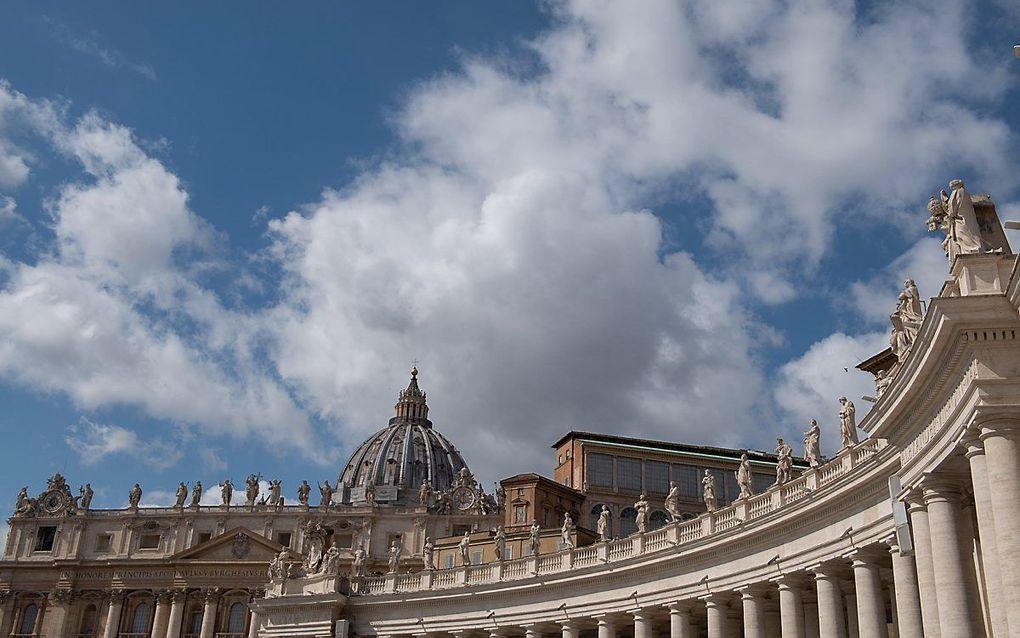 Vaticaanstad. beeld EPA, Maurizio Brambatti BT