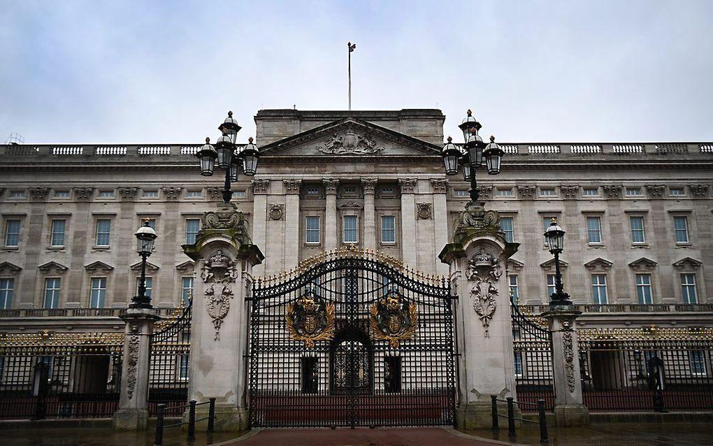 Buckingham Palace. beeld EPA, Andy Rain