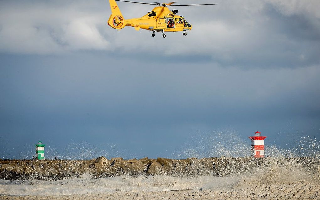 Een helikopter van de kustwacht. Archiefbeeld ANP SEM VAN DER WAL