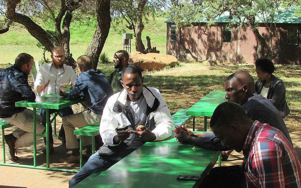 Op het zendingsveld in Zuid-Afrika. beeld GZB
