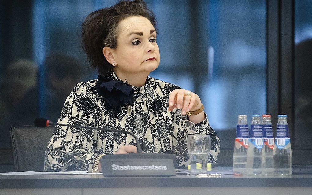 Staatssecretaris Alexandra van Huffelen. beeld EPA, Sem van der Wal