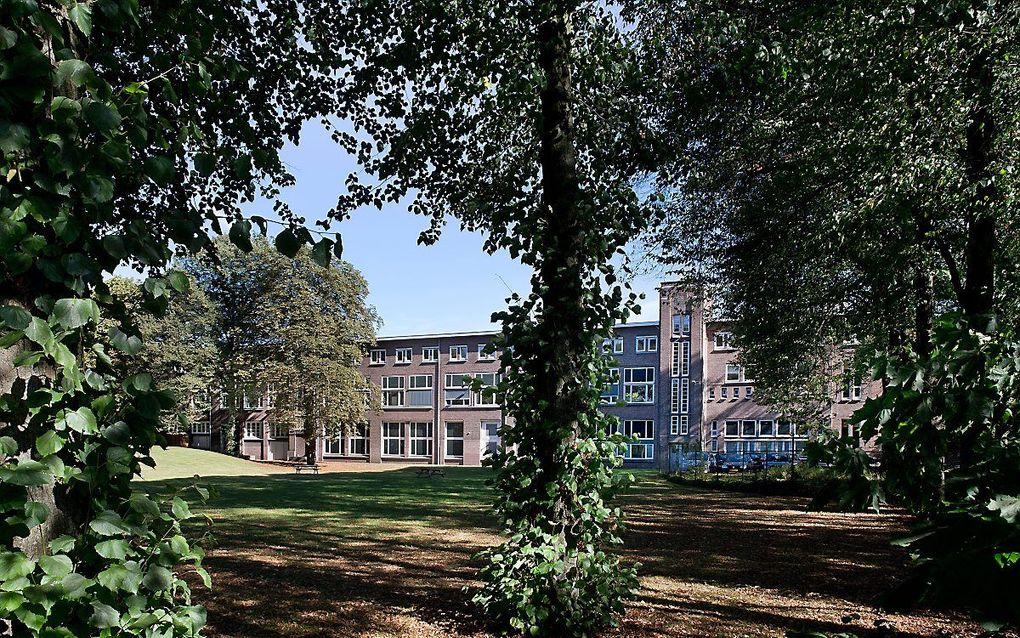 Het gebouw van de Evangelische Omroep in Hilversum. beeld RD, Henk Visscher