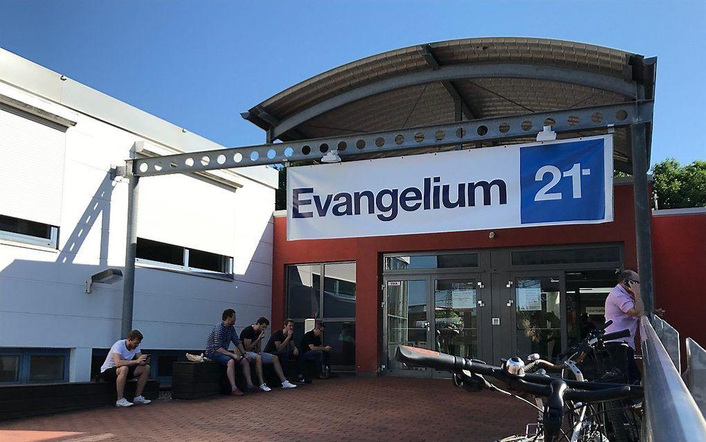 Eerdere editie van de conferentie Evangelium21 in Duitsland. beeld RD