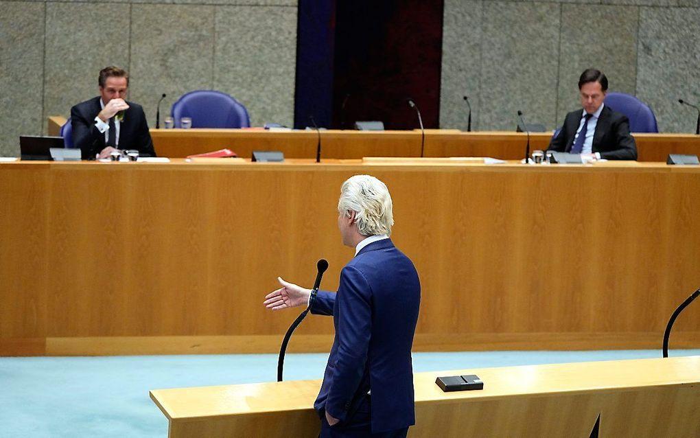 Wilders: Ministers pleegden mogelijk ambtsmisdrijf. beeld ANP, Phil Nijhuis