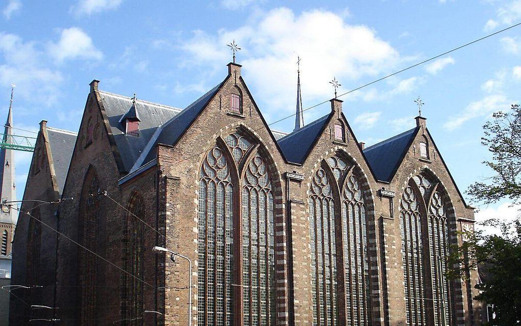 De Kloosterkerk in Den Haag. beeld Wikimedia