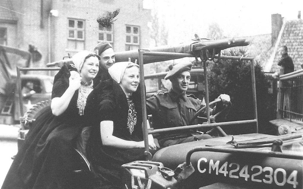 5 mei 1945. beeld ANP