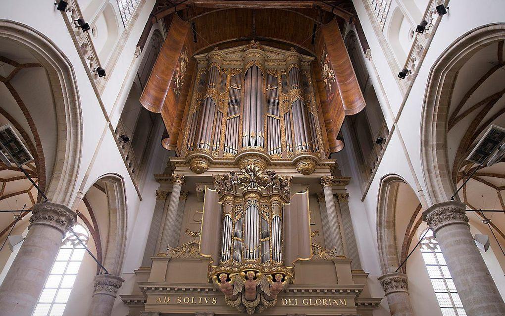 Het hoofdorgel van de Grote Kerk in Alkmaar. beeld RD, Henk Visscher