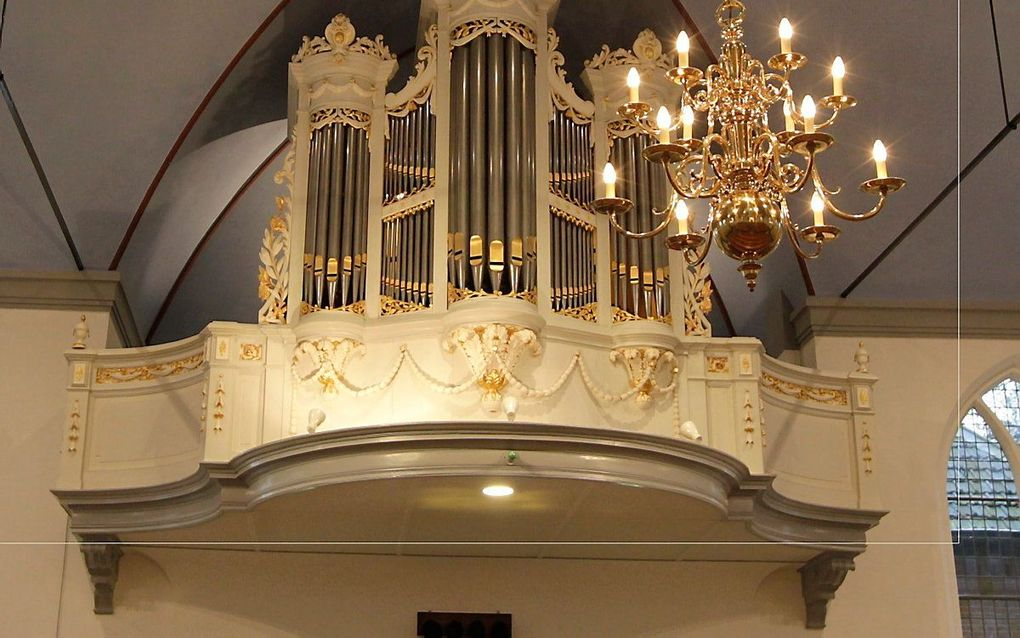 Het Reilorgel in de hervormde Oude Kerk van Lunteren. beeld RD, Anton Dommerholt