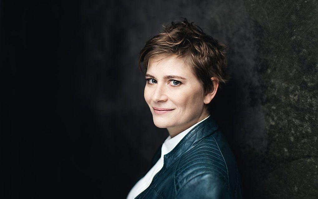 Anja Bihlmaier, de nieuwe chef-dirigent van het Residentie Orkest. beeld Residentie Orkest