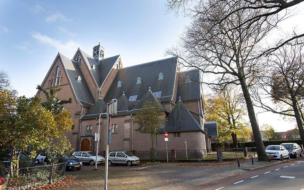 De voormalige rooms-katholieke Clemenskerk in Hilversum. beeld RD, Anton Dommerholt