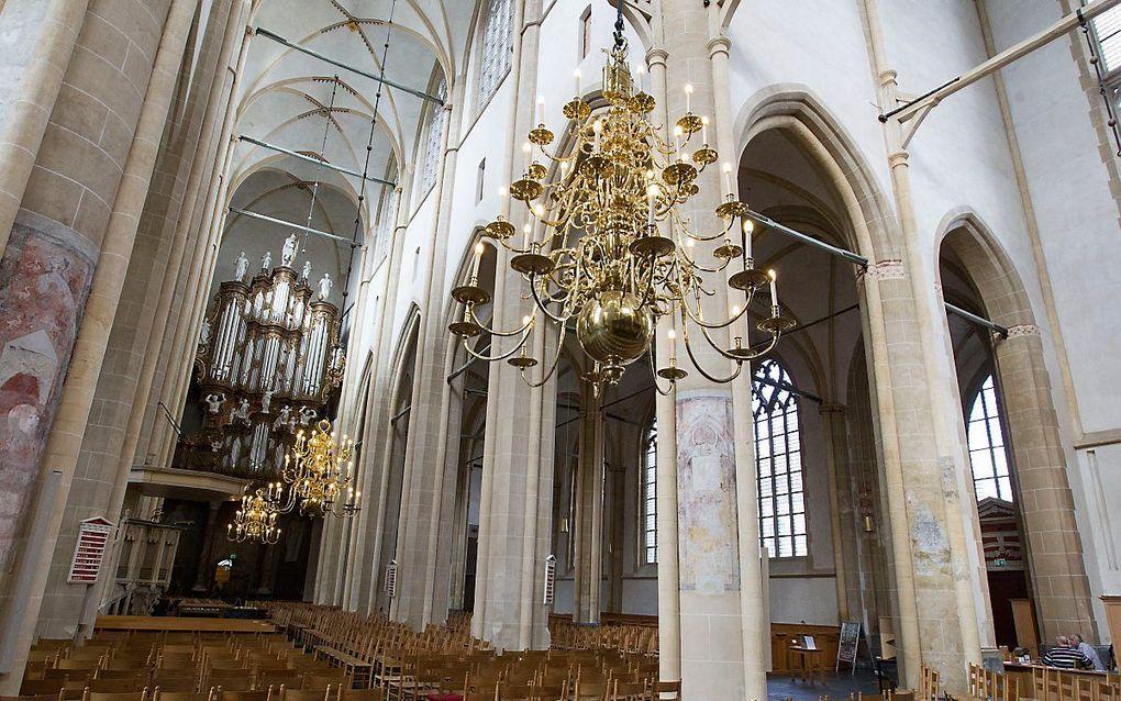 Interieur van de Bovenkerk in Kampen. beeld RD, Anton Dommerholt