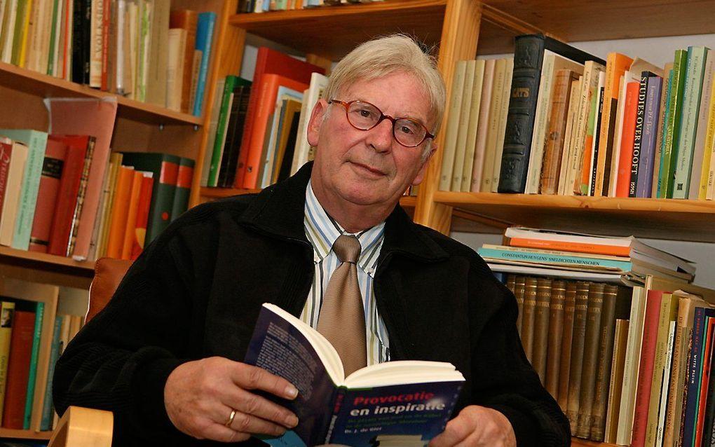 Dr. J. de Gier in 2010. beeld RD, Anton Dommerholt
