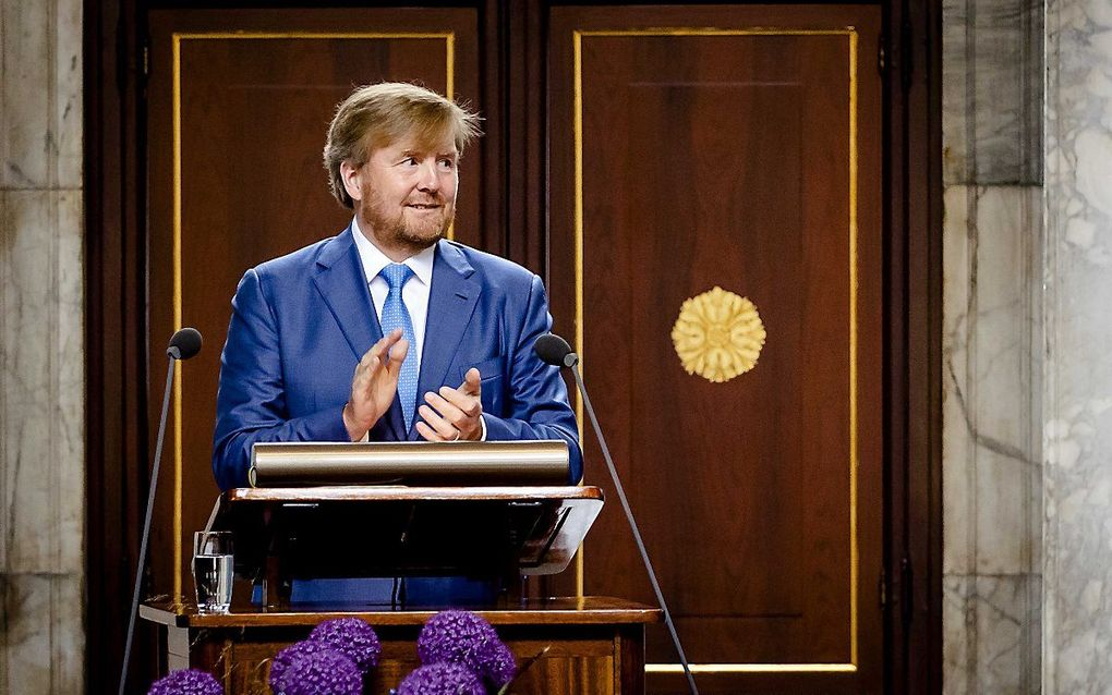 Koning Willem-Alexander. beeld ANP, Sem van der Wal