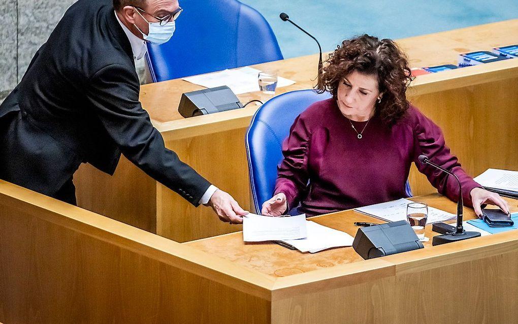 Minister Van Engelshoven van Onderwijs, Cultuur en Wetenschap (OCW). beeld ANP, Remko de Waal