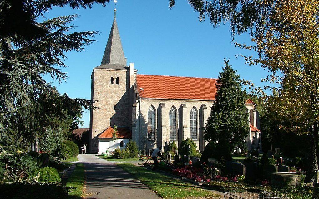 St. Johannis Kirche in Nordstemmen. beeld Wikimedia