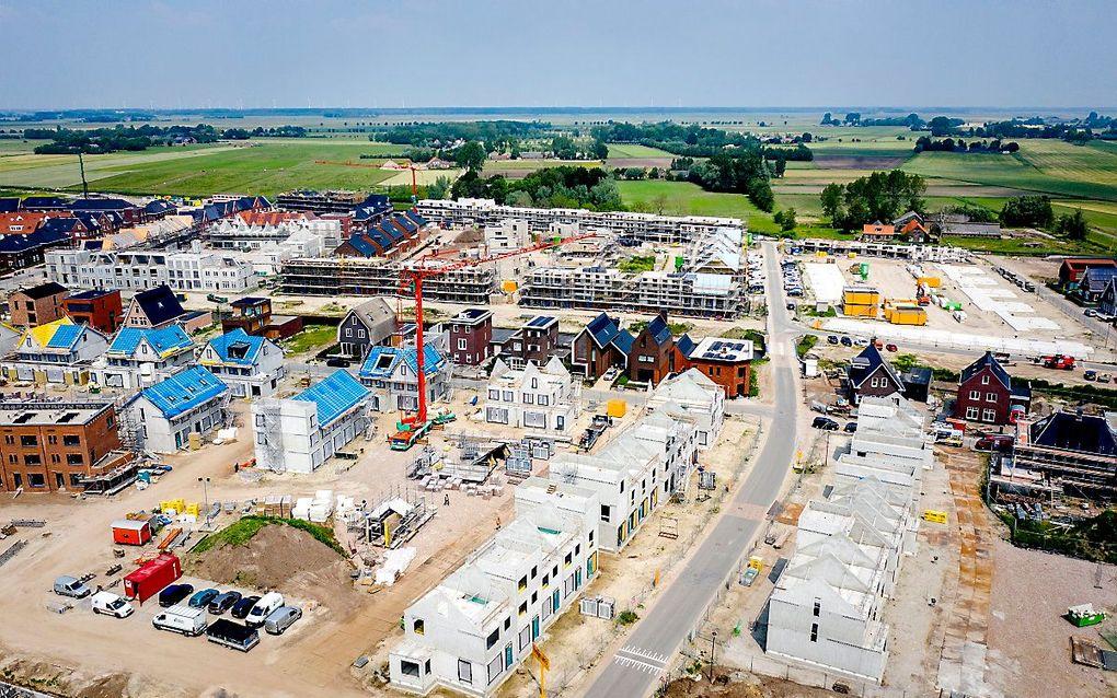 Nieuwbouw in de Amersfoortse wijk Vathorst. beeld ANP, Sem van der Wal