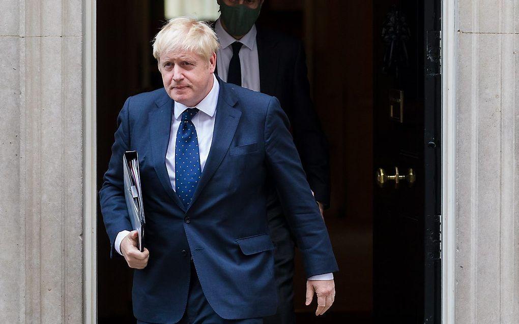 Boris Johnson. beeld EPA, Vickie Flores