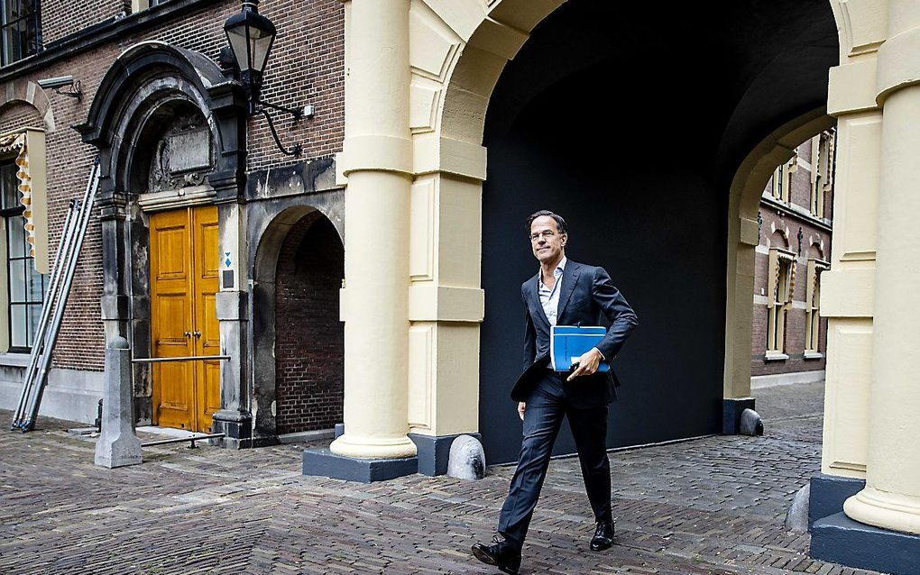 VVD-leider Mark Rutte. beeld ANP, Sem van der Wal