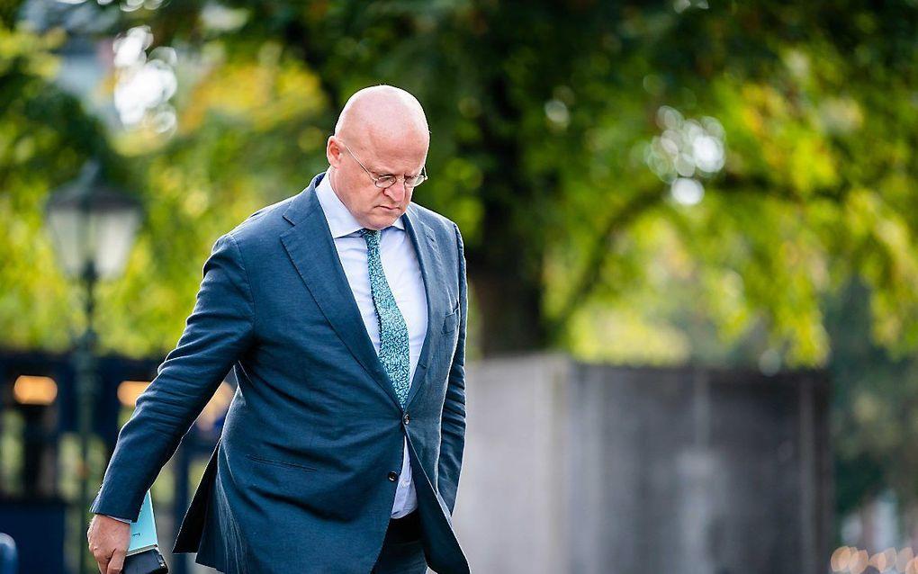 Minister Grapperhaus (Justitie en Veiligheid). beeld ANP, Bart Maat