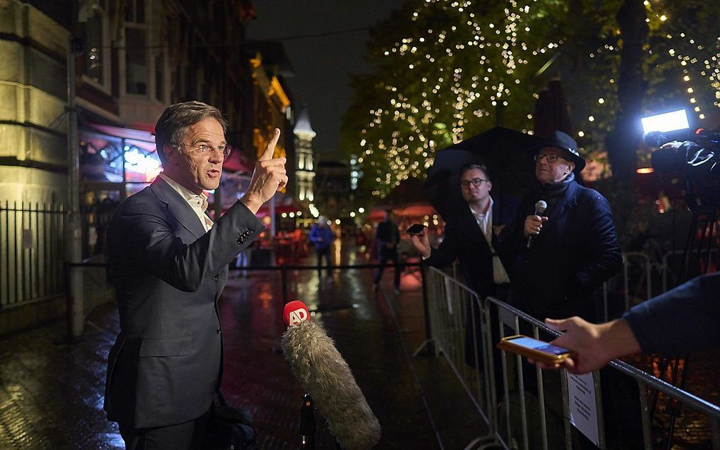 VVD-leider Mark Rutte. beeld ANP, Phil Nijhuis