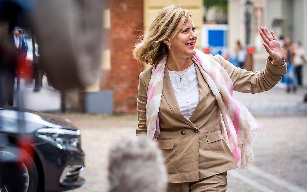 Voormalig minister van Infrastructuur en Waterstaat Cora van Nieuwenhuizen. beeld ANP, Lex van Lieshout